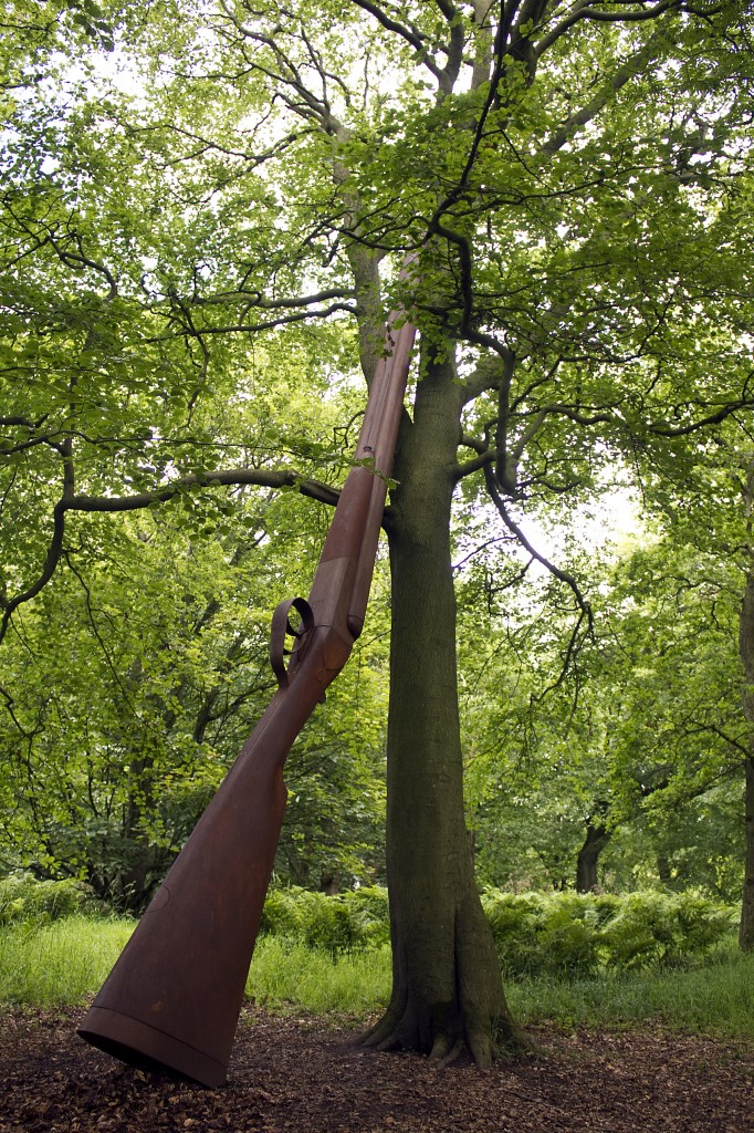 Cornelia Parker - Landscape with Gun and Tree 2010 small