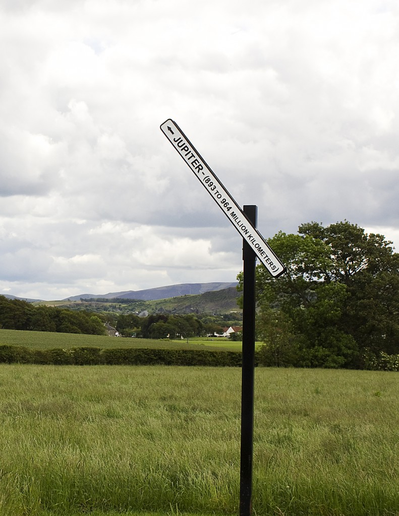Peter Liversidge - Proposal No. 90, A Signpost to Jupiter (small)