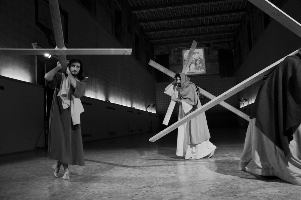 Christian Jankowski, Casting Jesus, 2 011, Performance at Santo Spirito, Rome © Luise Müller-Hofstede, courtesy the artist and Lisson Gallery.jpg