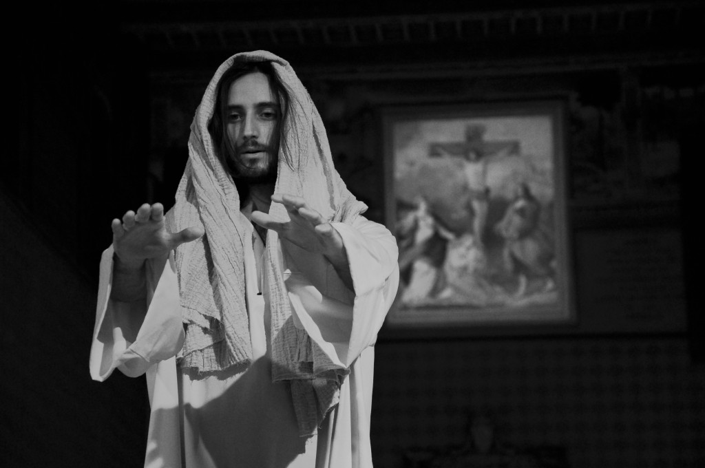 Christian Jankowski, Casting Jesus, 2011, Performance at Santo Spirito, Rome ©Luise Müller-Hofstede, courtesy the artist and Lisson  Gallery.jpg